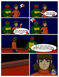 Romance and Doom Chap. 5 PG 11 by TMNT-Raph-fan