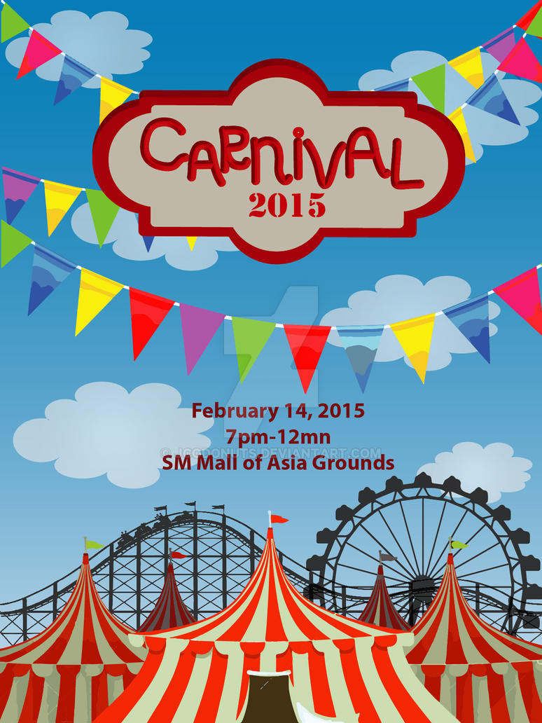 Carnival Poster Design by JCOdonuts on DeviantArt