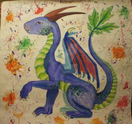 dragon Oreon by Drerika