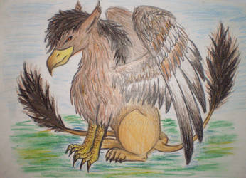 twotailed gryphon by Drerika