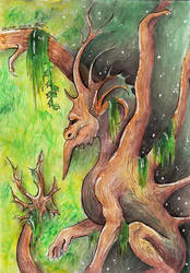 Lord of the forest by Drerika