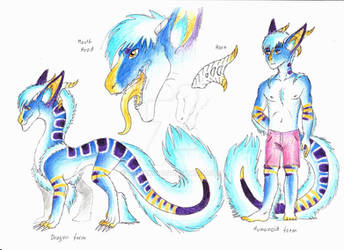 Ref sheet: Renould by Drerika