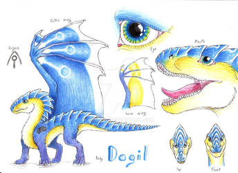 Ref sheet: Dagil by Drerika