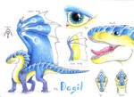 Ref sheet: Dagil