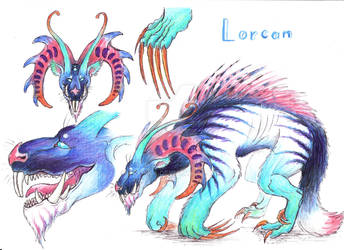 Ref sheet: Lorcan by Drerika