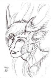 sketchy Zayny :P by Drerika