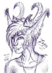 sketchy Zayny II B) by Drerika