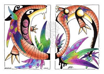 Cubism: Izzy by Drerika