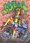 Luka - moto babe B] by Drerika