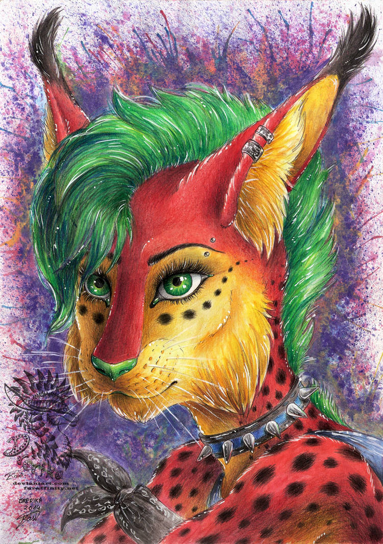 xxx Spiky Green Eyed Beauty xxx