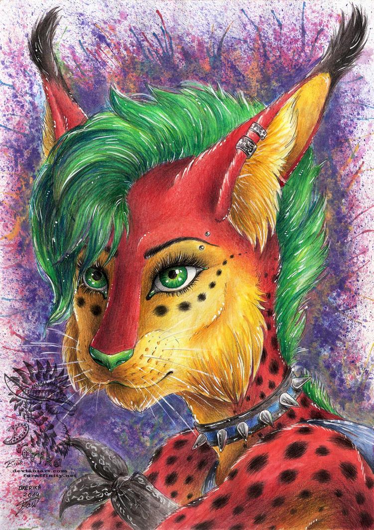 xxx Spiky Green Eyed Beauty xxx by Drerika