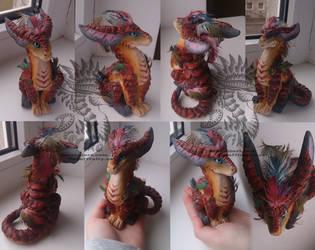 Izzy figurine 2 by Drerika
