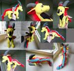 CM: dragon Tony plush
