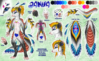 Ref sheet: Danila by Drerika