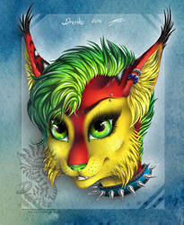Punk and lynxy treasure by Drerika