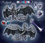 CM: Kaliyah ref sheet (clothing version)