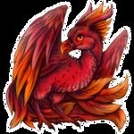 CM: Red phoenix chibi