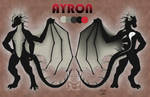 CM: Ayron ref sheet by Drerika