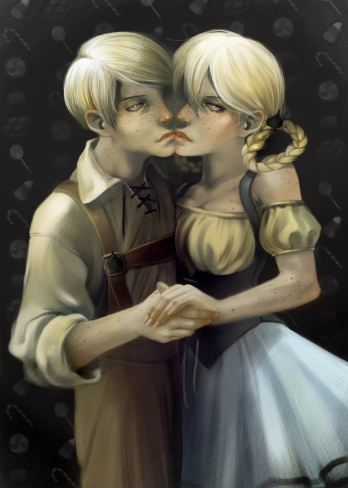 -Hansel and Gretel- by yamiza
