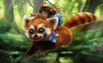 The Giant Red Panda