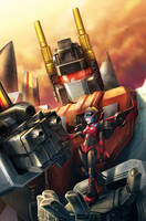 Windblade #1 - Combiner Wars by yamiza
