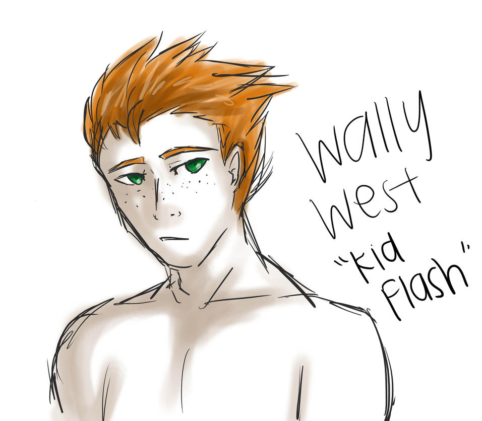 Wally West by ZacharyWolf