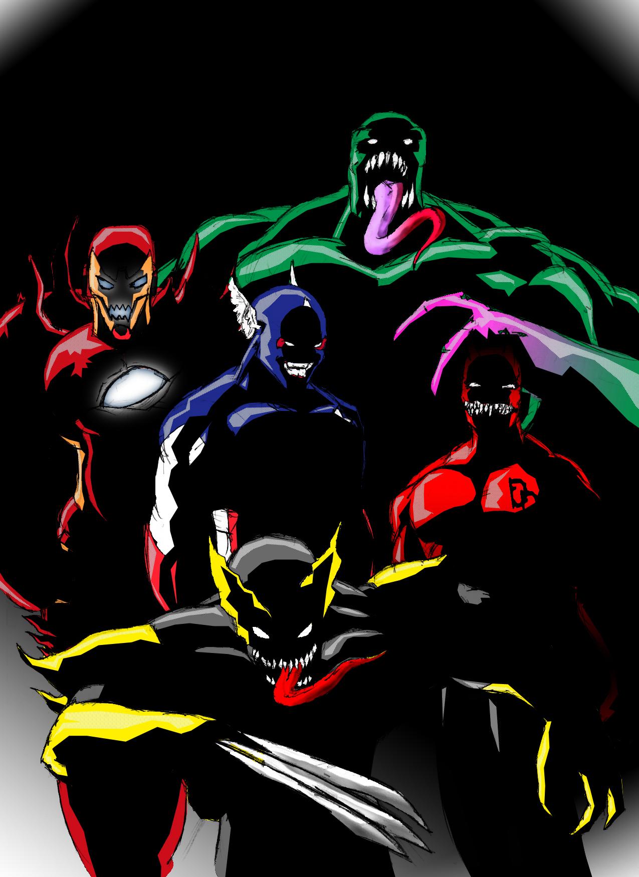 Marvel Symbiotes by ShadetheMystic on DeviantArt