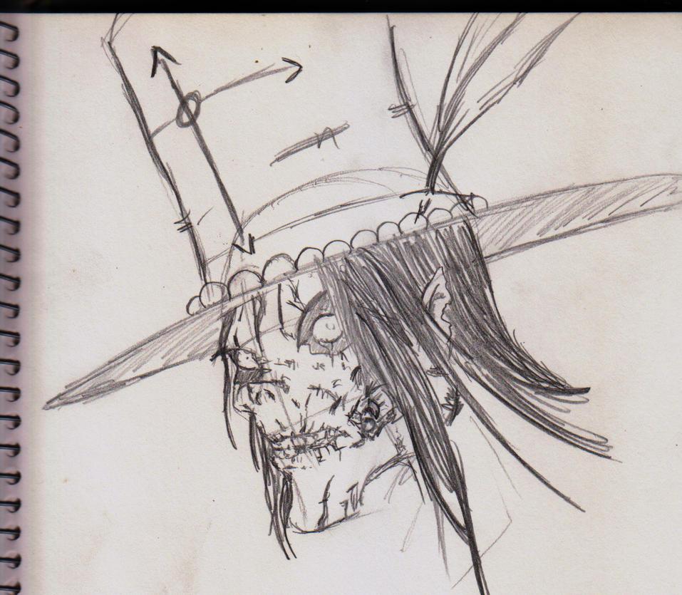 Sketch - Papa Dhimballa by ShadetheMystic