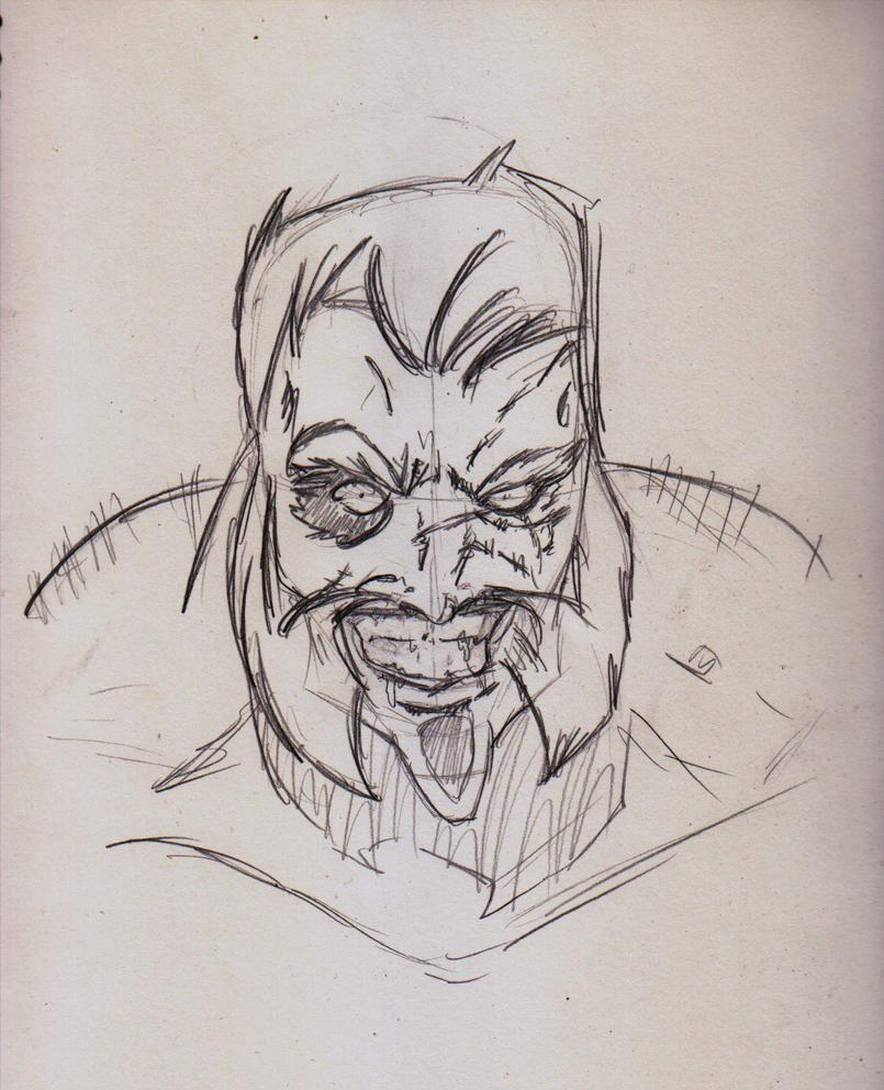 Sketch - Master Shirke by ShadetheMystic