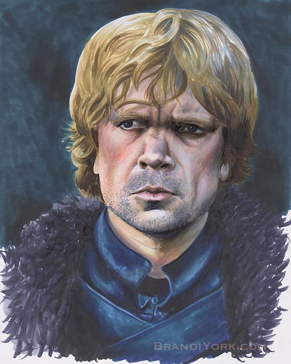 The Imp - Tyrion Lannister by brandiyorkart