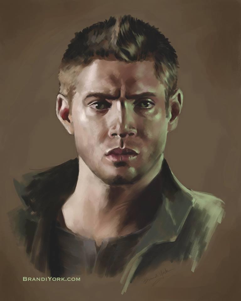 Dean Winchester by brandiyorkart