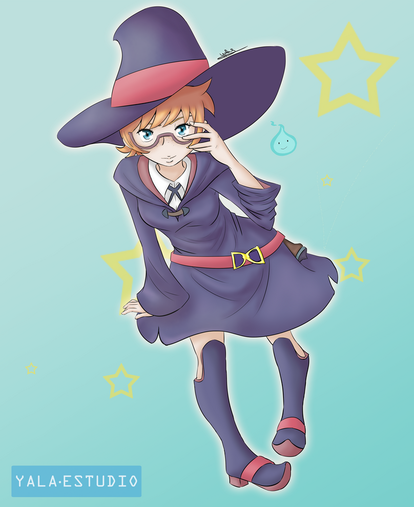 Lotte - Little Witch Academia by Yala-chan