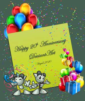 Happy 20th Anniversary DeviatnArt