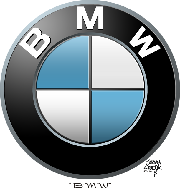 bmw logo trace vector by chaossity on deviantart rh chaossity deviantart com bmw motorrad vector logo bmw vector logo free download