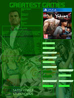 Greatest Games ~ Yakuza 6 by Crescendodragon