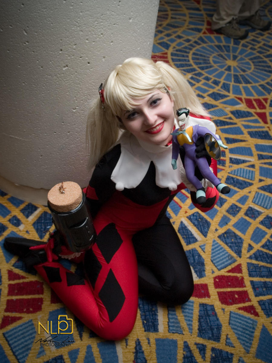 DC 12 - Harley and her Joker Doll by aXkosplay