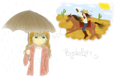 Psycholat under the rain