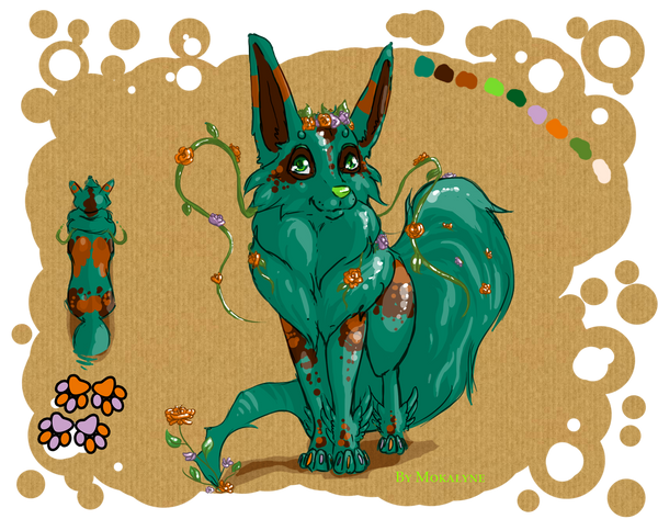 Selling design fairy fox dog by mokalyne on deviantart 4 selling design