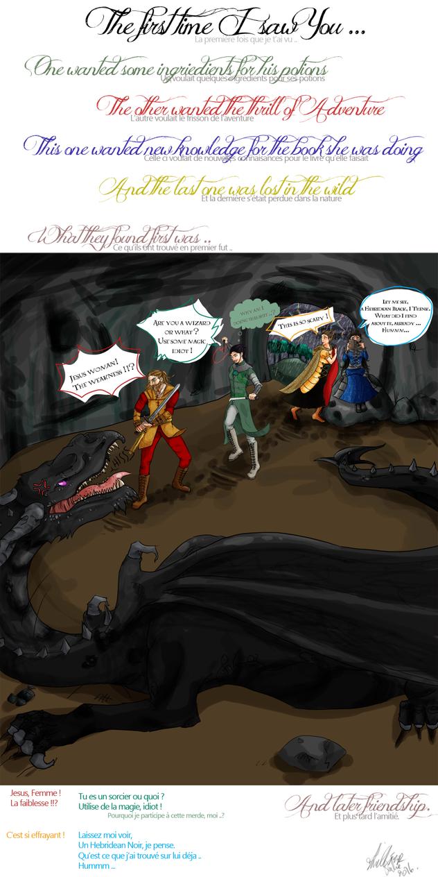Les 4 Fondateurs se rencontrent by Mokalyne