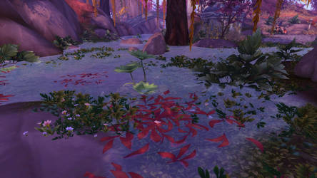 Suramar Lily Pond by spamuel98