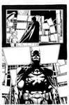 Batman the Return Pg 14 inks
