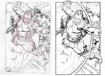 Bloodshot. Lashley layouts vs Winn finishes by RyanWinn