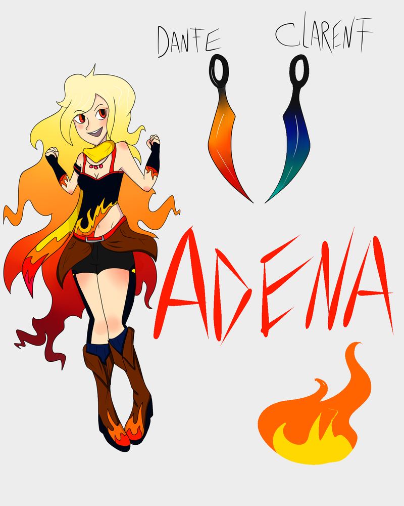 Adena Witch of Fire by Brokenshade25