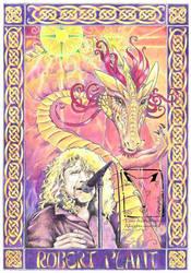 Robert Plant by dragonladych