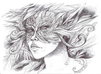 Tree Woman by dragonladych