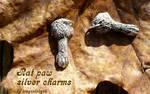 Rat Paw Charm