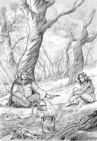 First encounter by dragonladych