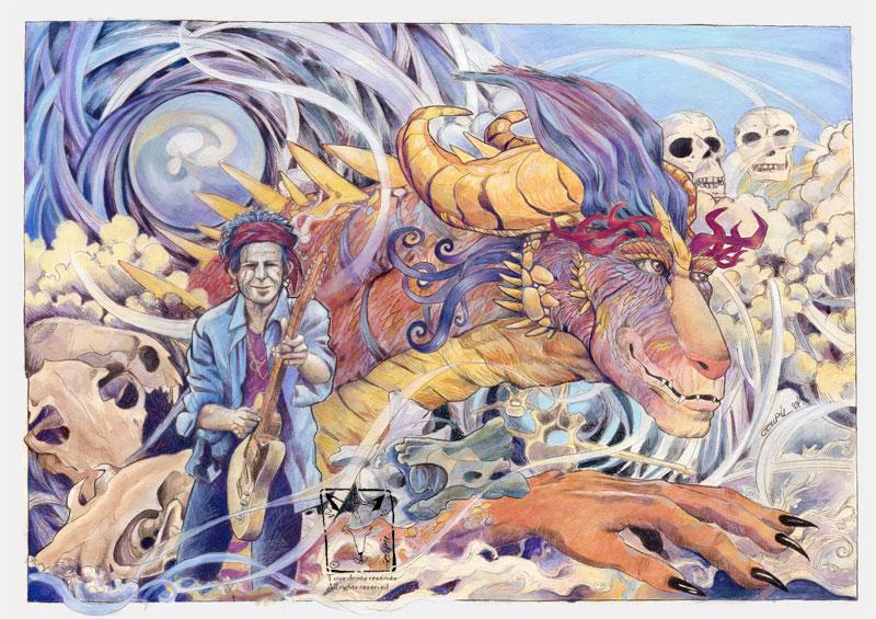 The Shaman by dragonladych
