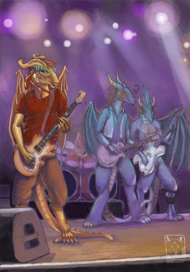 Rocking Dragons