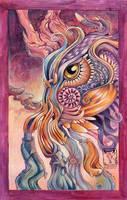 Coloured beastie2 by dragonladych